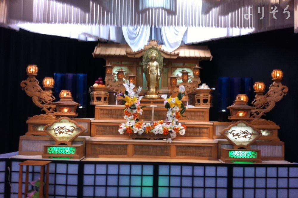 斎場ソメイユの祭壇2写真